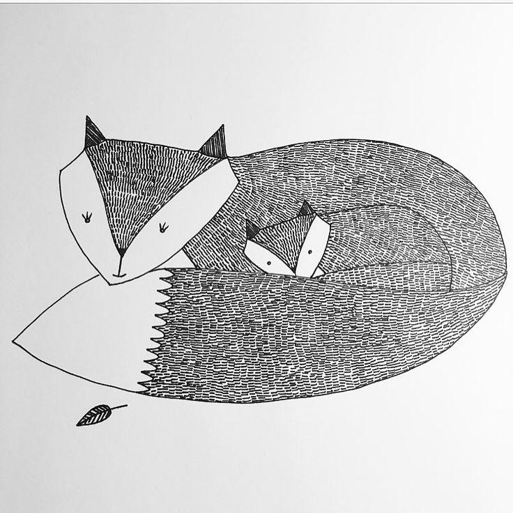 G o o d n i g h t🌙 --------------------------------------------- #räv #fox #family #familj #djur #animal #skog #forest #nature #natur #skapa #pyssel #kidsroom #barnrum #illustration #childrensillustration #rita #draw #drawing #konst #konstnär #art #artwork #artist #myart #artgallery #artoftheday
