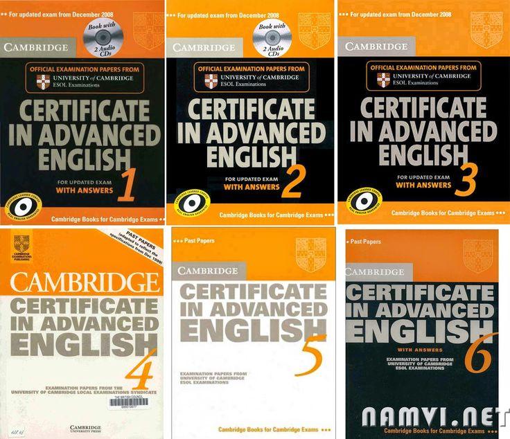 Cambridge Certificate In Advanced English (CAE) 1,2,3,4,5,6
