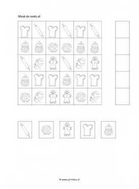 Dit overige werkblad en nog veel meer in het thema bakker kun je downloaden op de website van Juf Milou.