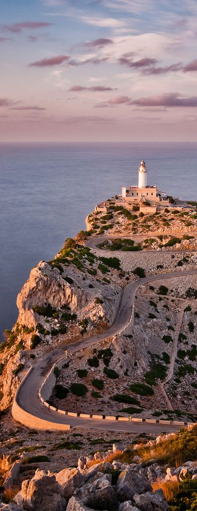 #formentor  Lighthouse, #mallorca , #spain . http://reversehomesickness.com/europe/coastal-areas-in-europe/