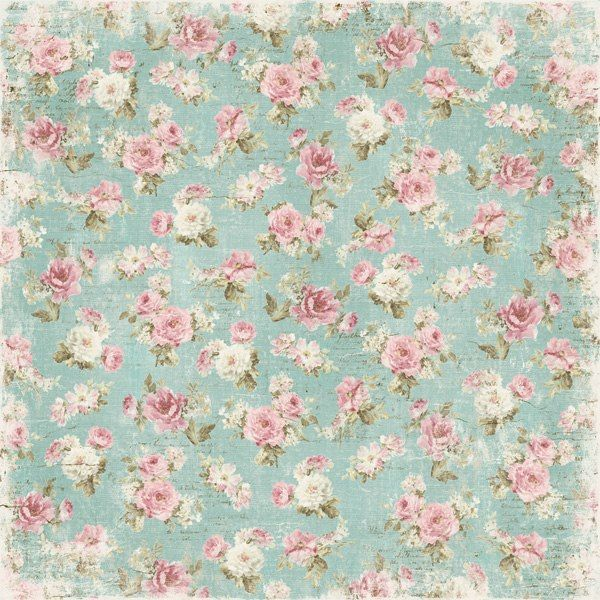 Collection Of Shabby Chic Vintage Papers