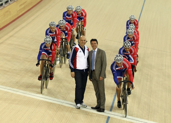 Dave Brailsford Photo - Team GB cyclists unveil London 2012 Velodrome
