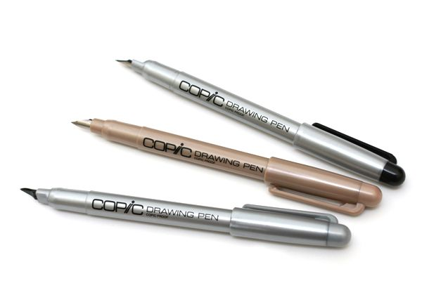Copic Comic Drawing Pen with Waterproof Ink - 0.1 mm ...