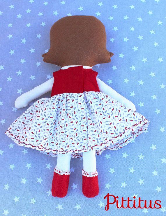 Muñeca Maria regalo personalizado muñeca niña regalo por Pittitus