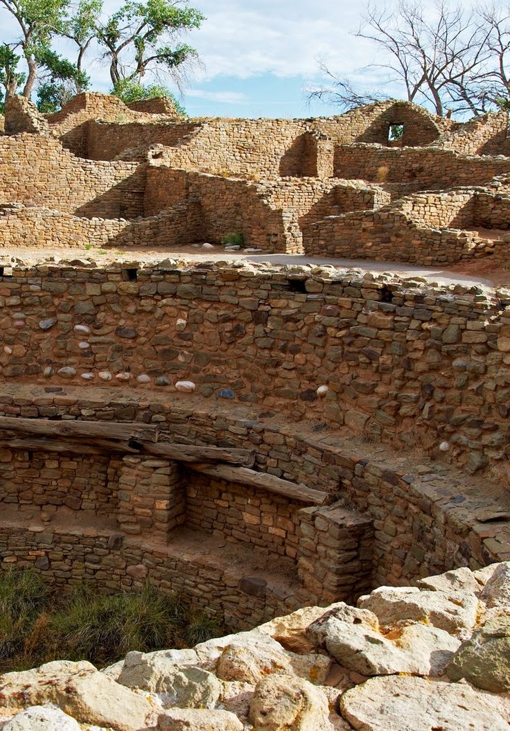 Aztec Ruins. New Mexico. USA.                                                                                                                                                                                 More