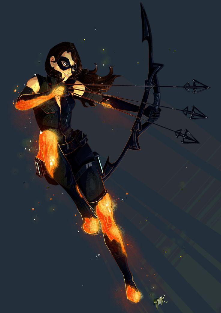 Cinder Fall archer-- RWBY