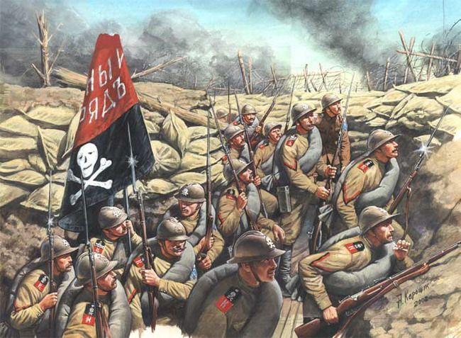 """Russian WW1 """"Kornilov Shock Troops"""""""