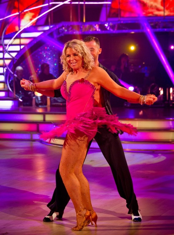 Fern Britton and Artem Chigvintsev, this week's Strictly losers :-(