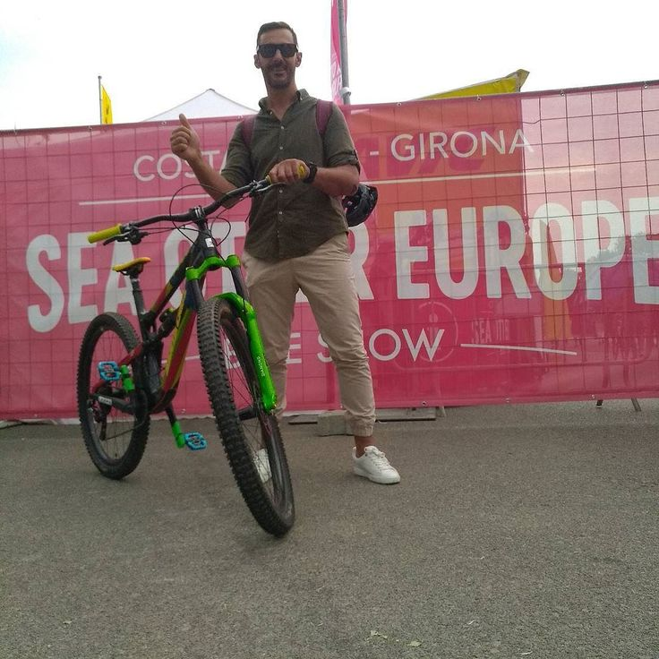 Incredible first édition SEA OTTER EUROPE GIRONA  #catalunya #bike  #show #bikeshop #enduro #love