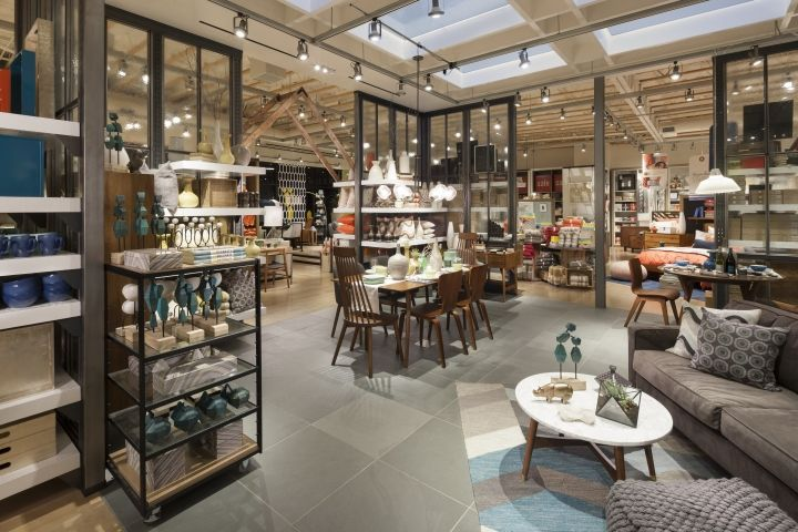 West Elm home furnishings store by MBH Architects, Alameda – California » Retail Design Blog