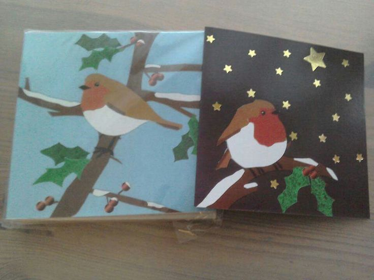Robin Duo. 2003's bestselling Christmas cards @ Treloar College. Alton, Hampshire © Amy Sharpe