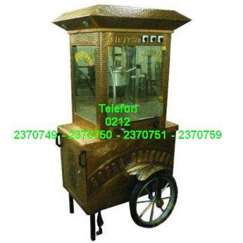 Bakır Kaplama PopCorn Mısır Patlatma Arabası Satış Telefonu 0212 2370750 Bakırdan nostaljik mısır patlatma arabalarının satışı 0212 2370749