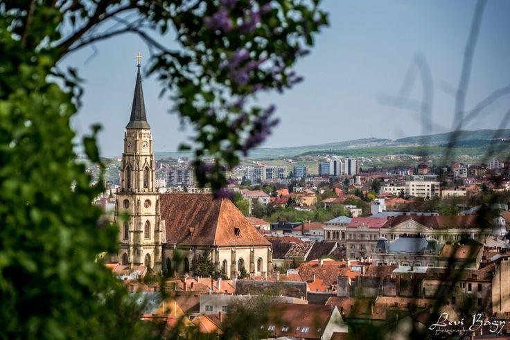 Imagine din Cluj-Napoca.