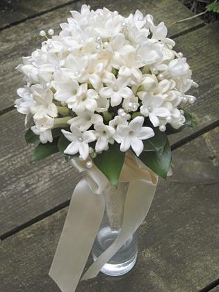 Stephanotis Bouquet - Love these little flowers!