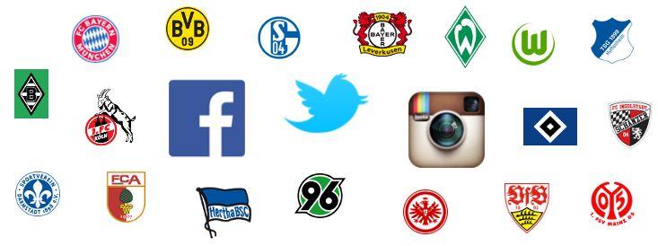 Social Media Rankings: Im Real Life spielt der FC Bayern in einer eigenen Liga. Doch wie sieht's auf Facebook, Twitter & Instagram aus?