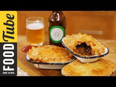 Jamie's Beef and Ale Aussie Meat Pie | Happy Australia Day! - YouTube