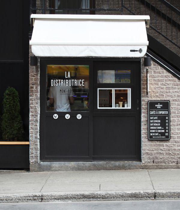 La imagen del martes (13-11-12) / ESTUDIO Y DISEÑO - La cafetería más pequeña de EEUU. Excelente imagen corporativa