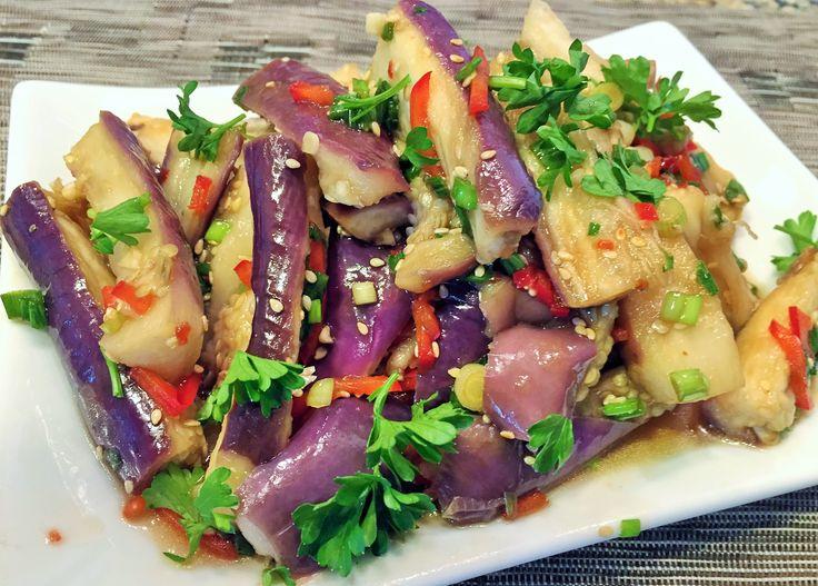 БАКЛАЖАНЫ ПО - КОРЕЙСКИ. Корейский салат. Наивкуснейшие.
