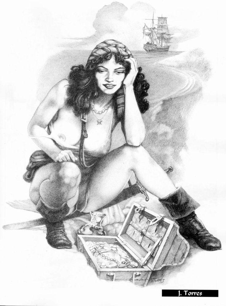 Black woman pirate porn