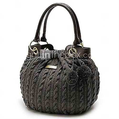 Borsa a tracolla speciale donne di lana per maglieria (0.465-1011606924) - EUR € 24.74