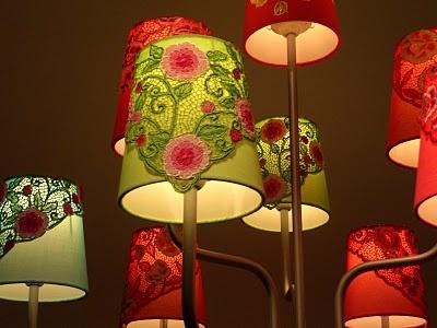 Nyonya has a little lamp