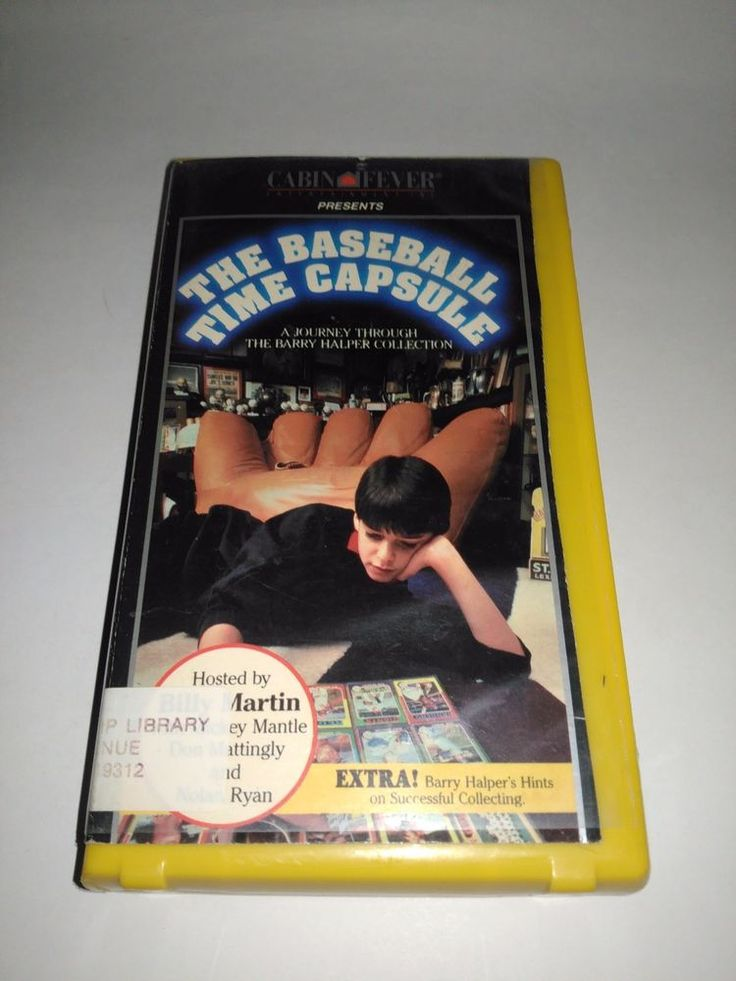 The Baseball Time Capsule Rare VHS Movie Halper Collection Billy Martin 1989 VHS