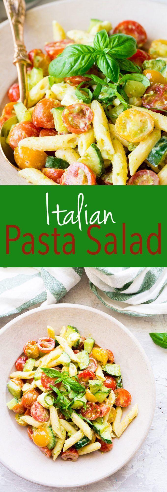 Italian Pasta Salad   – Ich esse alles..