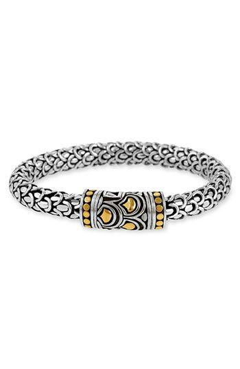 John Hardy 'Naga' Silver & Gold Bracelet available at #Nordstrom