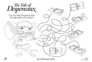 Tale of Despereaux FREE Printables