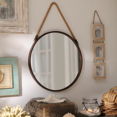 Wall mirrors Ropes and Mirror on Pinterest