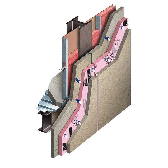 Precast Concrete Walls with XPS Insulation Core Layer and Thermomass® connectors - Owens Corning® Enclosure Solutions