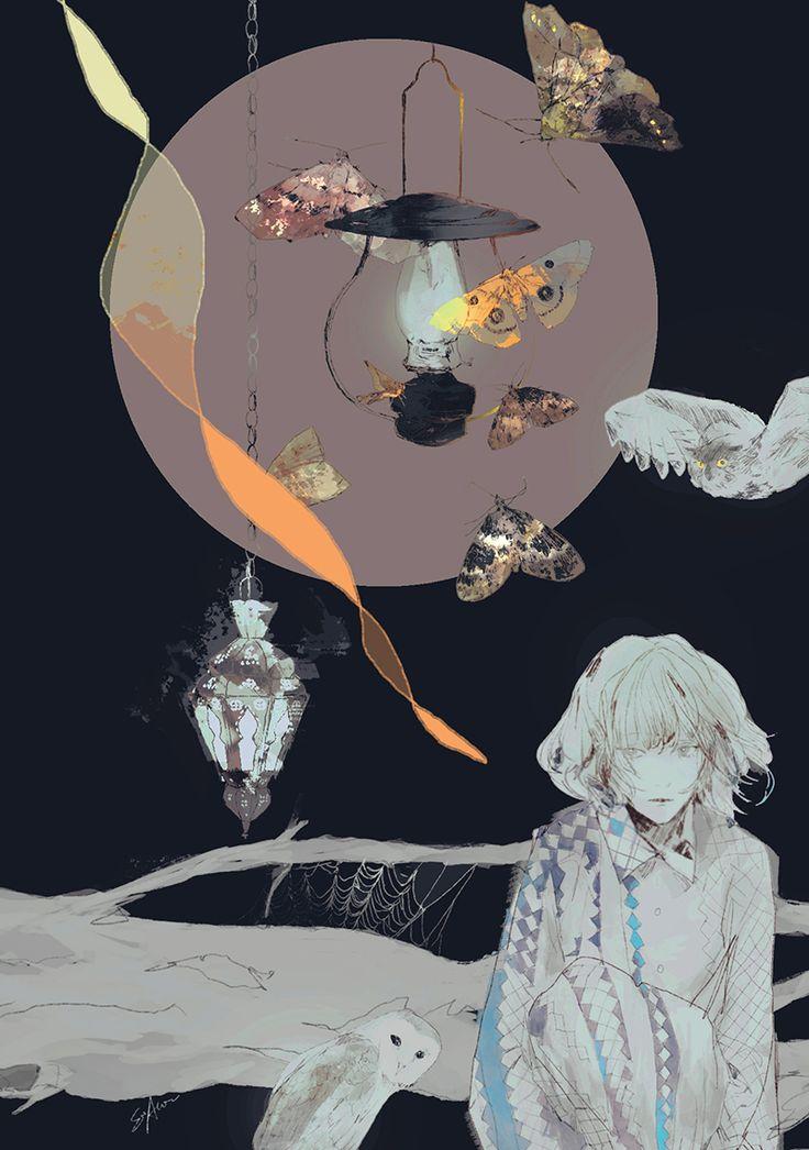 Aofuji Sui — 光に群がる ©︎aofujisui