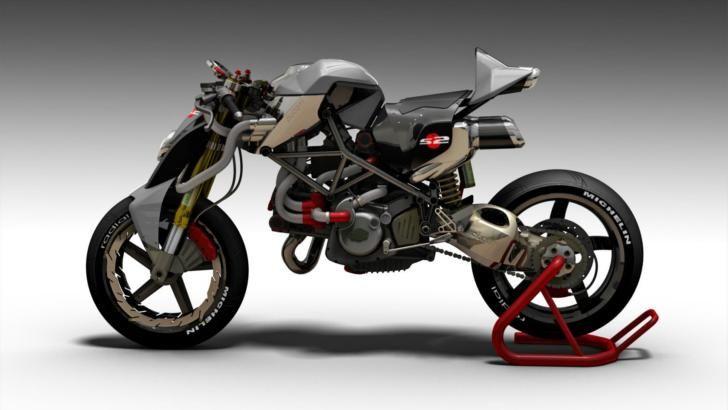 Ducati S2-Braida Concept Fighter by Paolo Tesio [Photo Gallery]