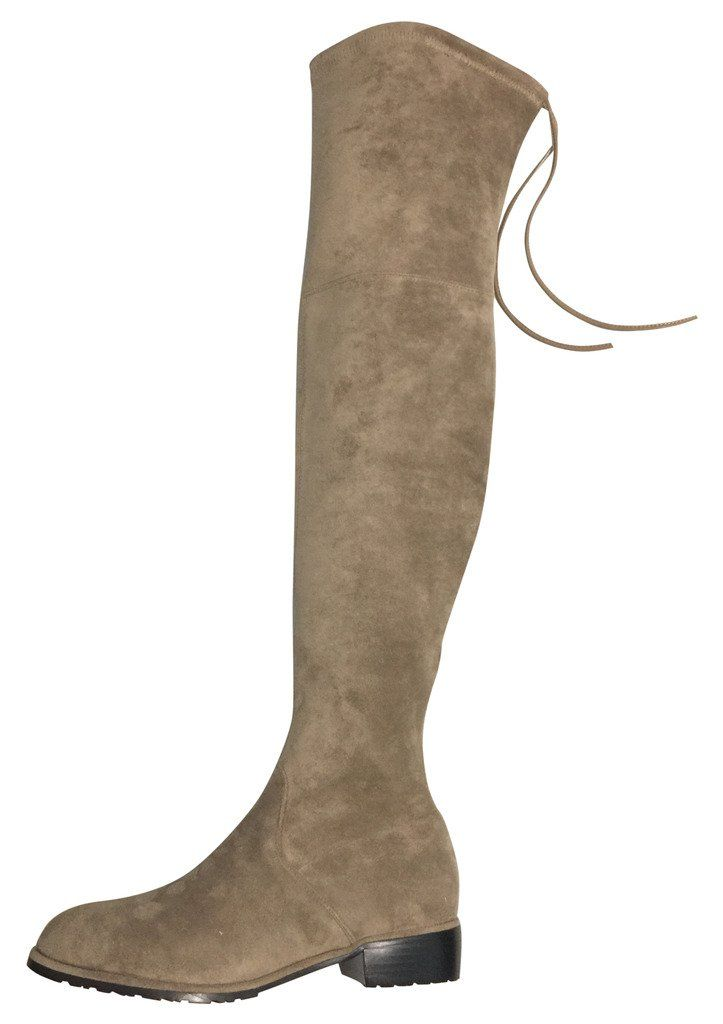 fa7c0600fc92 Kaitlyn Pan Flat Heel Microsuede Slim Fit Over The Knee Boots   Visit the  image link more details. (This is an affiliate link)  ThighHighBoots