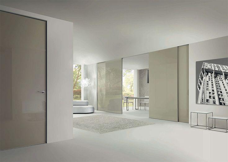 Oltre 25 fantastiche idee su porte scorrevoli su pinterest - Porte interne su misura milano ...