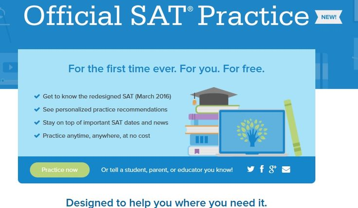 Khan Academy & College Board Announce New Free SAT Prep
