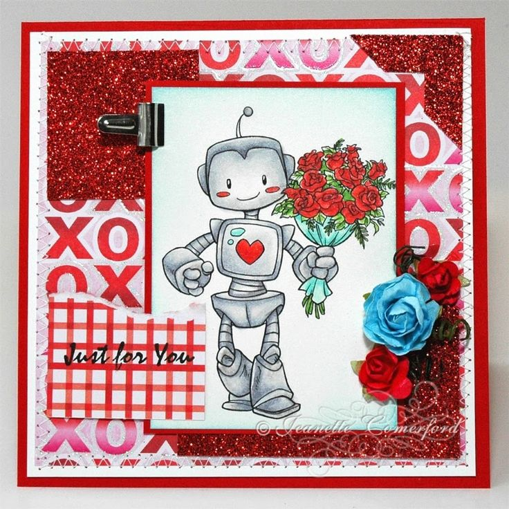 Happy Thoughts & Inkspots: Stamp and Create February Challenge