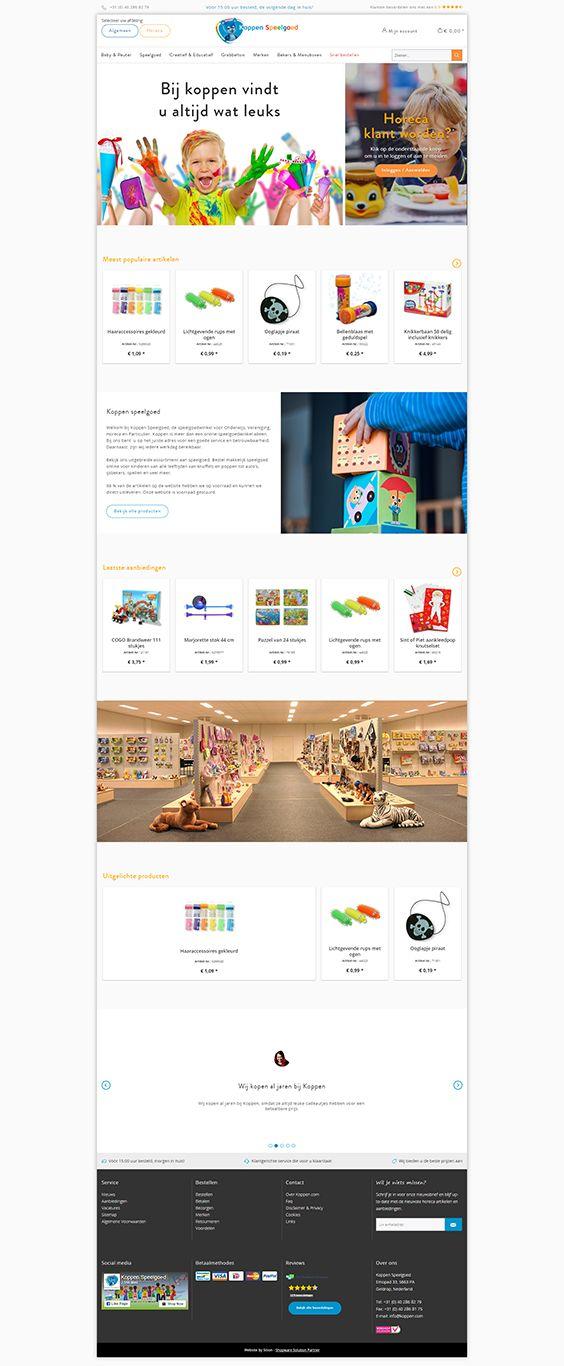 #ShopwareDesign #ShopwareTheme #ShopwareShop #eCommerce #eCommerceSoftware #eCommerceplatform #Onlineshop #Children #Kids #KoppenSpeelgoed #Dutchshopwareshop #Baby #toys