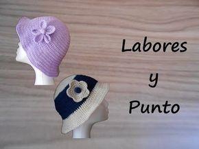 ▶ Aprende a tejer este gorro a ganchillo o crochet- Parte 2 de 2 - YouTube