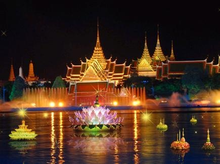 Festival of lights in #Laos. #Travel