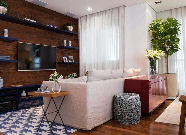 Aumentar a sala com a varanda? Use deque de madeira  - Casa e Jardim | Decoração