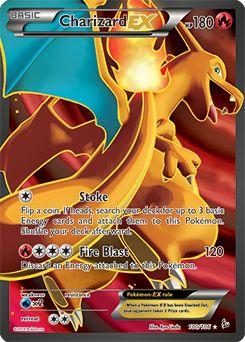 XY - Flashfire Charizard EX Full Art 100/106 (Rare Ultra)