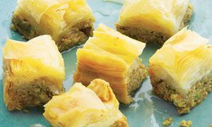 Dan Lepard's recipes for spiced baklava and lemon semolina cake