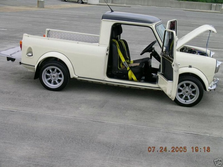 Mini Cooper Pick Up... SealingsAndExpungements.com... 888-9-EXPUNGE (888-939-7864)... Free evaluations..low money down...Easy payments.. 'Seal past mistakes. Open new opportunities.'