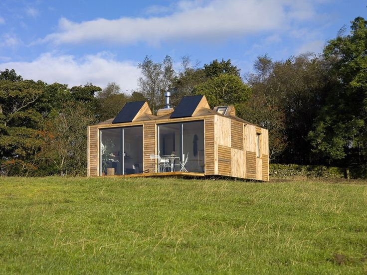 Brockloch Bothy, a holiday cottage in Scotland, is built from a number of Echo's Eco Pods (Photo: Echo)