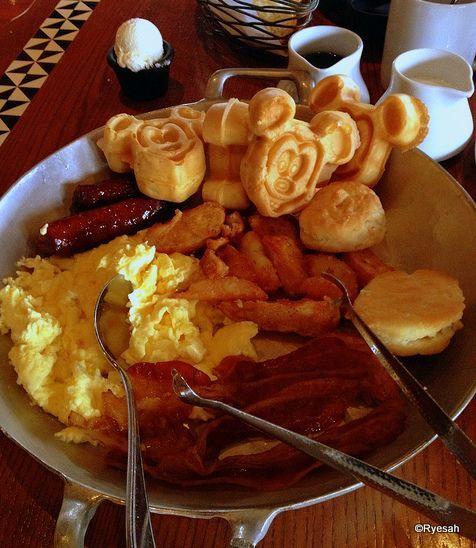 Breakfast Skillet at 'Ohana! #WDW #DisneyFood