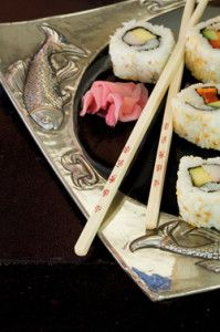 Creative Company   Pewter it – Pewter sushi plate