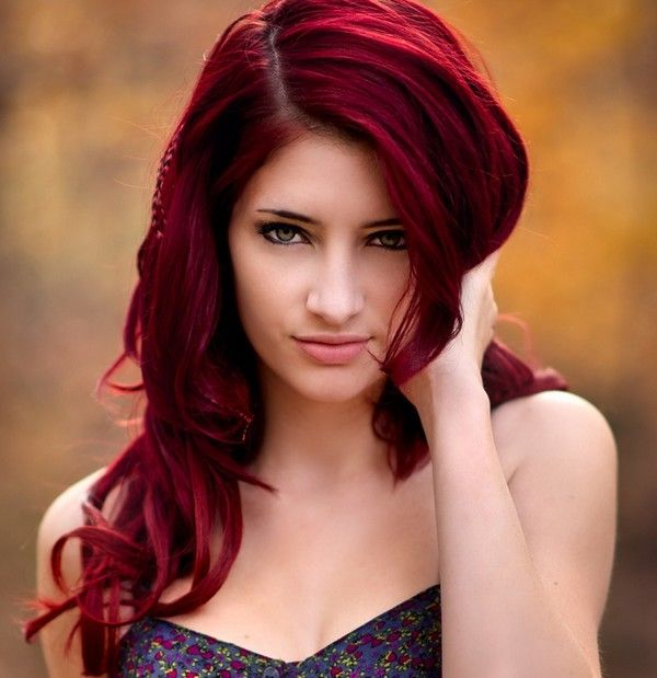 Love this I want this hair color. Maybe a little more red
