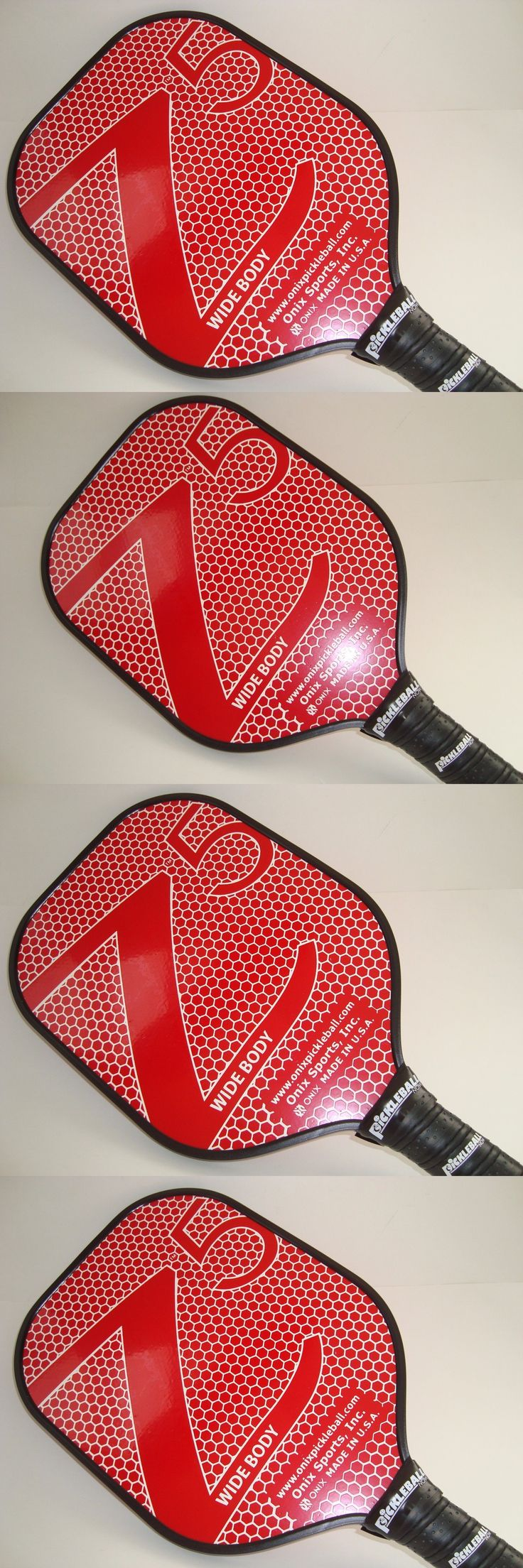 Other Tennis and Racquet Sports 159135: New Onix Z5 Composite Pickleball Paddle Nomex Core Strong Light Red -> BUY IT NOW ONLY: $79.99 on eBay!
