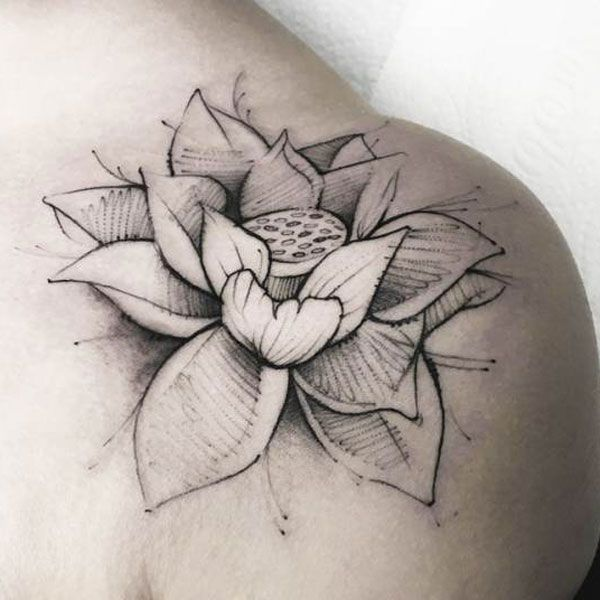 61 Best Lotus Flower Tattoo Designs Meanings 2020 Guide Lotus Flower Tattoo Design Flower Tattoo Designs Lotus Tattoo Design